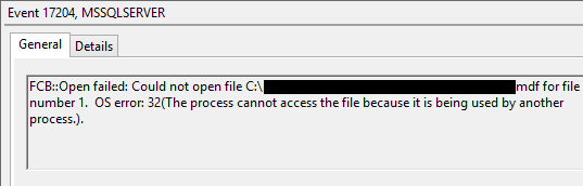 MSSQL error open failed could not open mdf file.png
