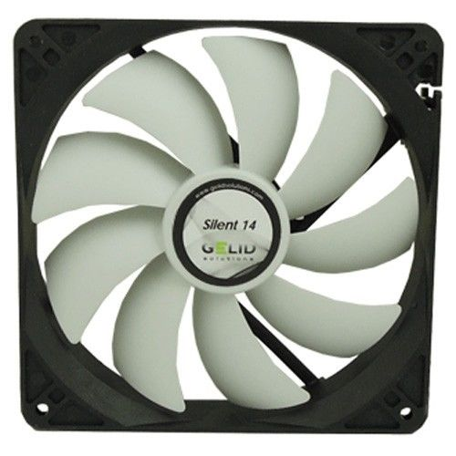 GELID Silent 14 - Silent PC CASE FAN 140mm,14cm,25T,4Pin,White,FN-SX14-10.JPG